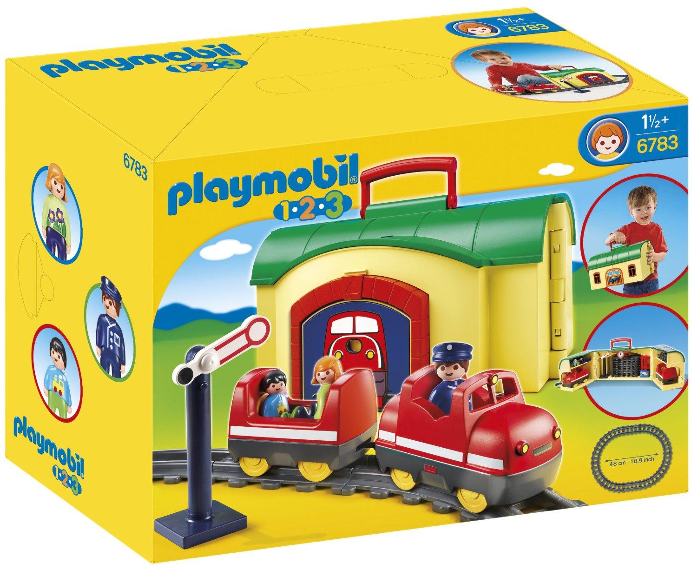 Deals save 51 off playmobil 1 2 3 my take along - Train playmobil ...
