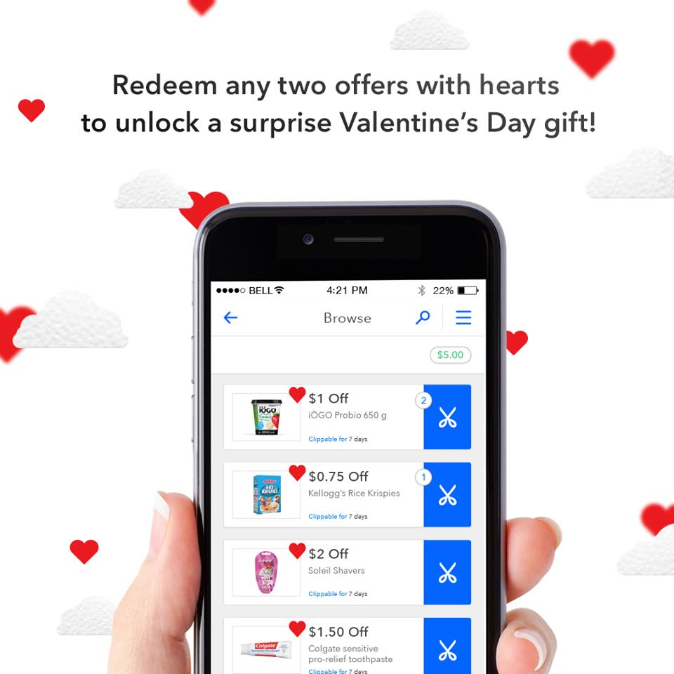 Coupgon Valentines Offer