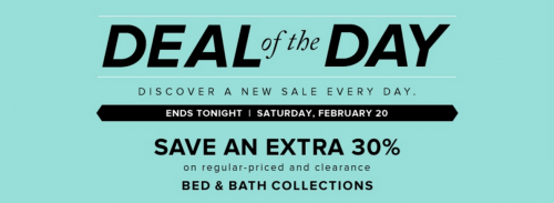 Hudson's Bay Deal of the Day