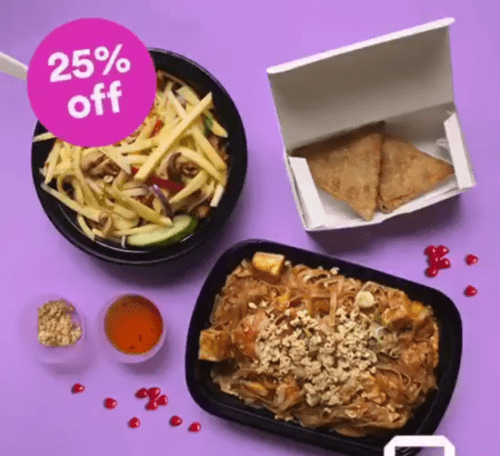 JUST EAT Canada Valentine's Day Deal