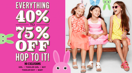 The Children's Place Canada Sale