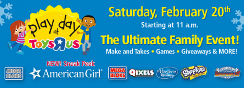 Toys R Us Canada Family Event Promotions