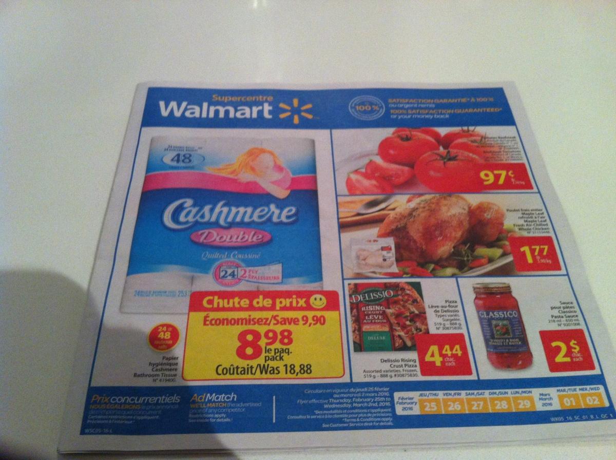 Walmart Flyer Feb 25 March 2