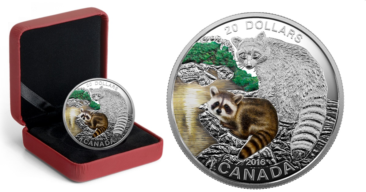 Royal Canadian Mint New 2016 Coins 1 2 Oz Fine Silver