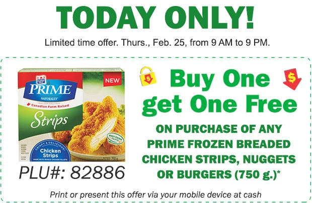 Food Basics Flash Sale Bogo Maple Leaf Prime Strips Nuggets Or