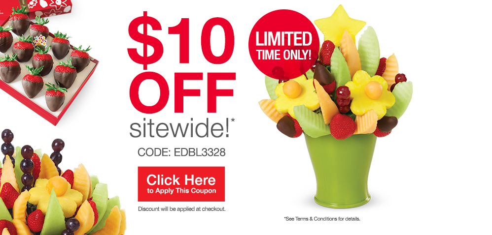 Edible arrangements canada save 10 off any order - Gardeners supply company coupon code ...