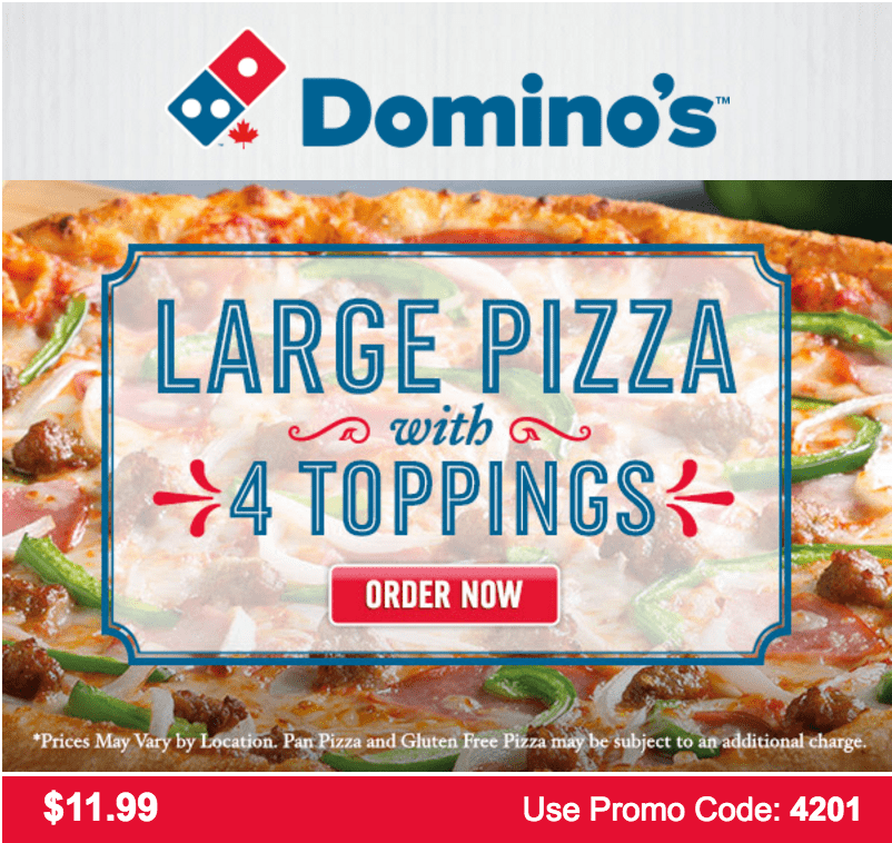 picture relating to Printable Dominos Coupons called Dominos pizza coupon codes mackay : Mommy will save substantial printable