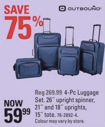 Canadian Tire 3 Day Madness Sale Save 75 Off Outbound