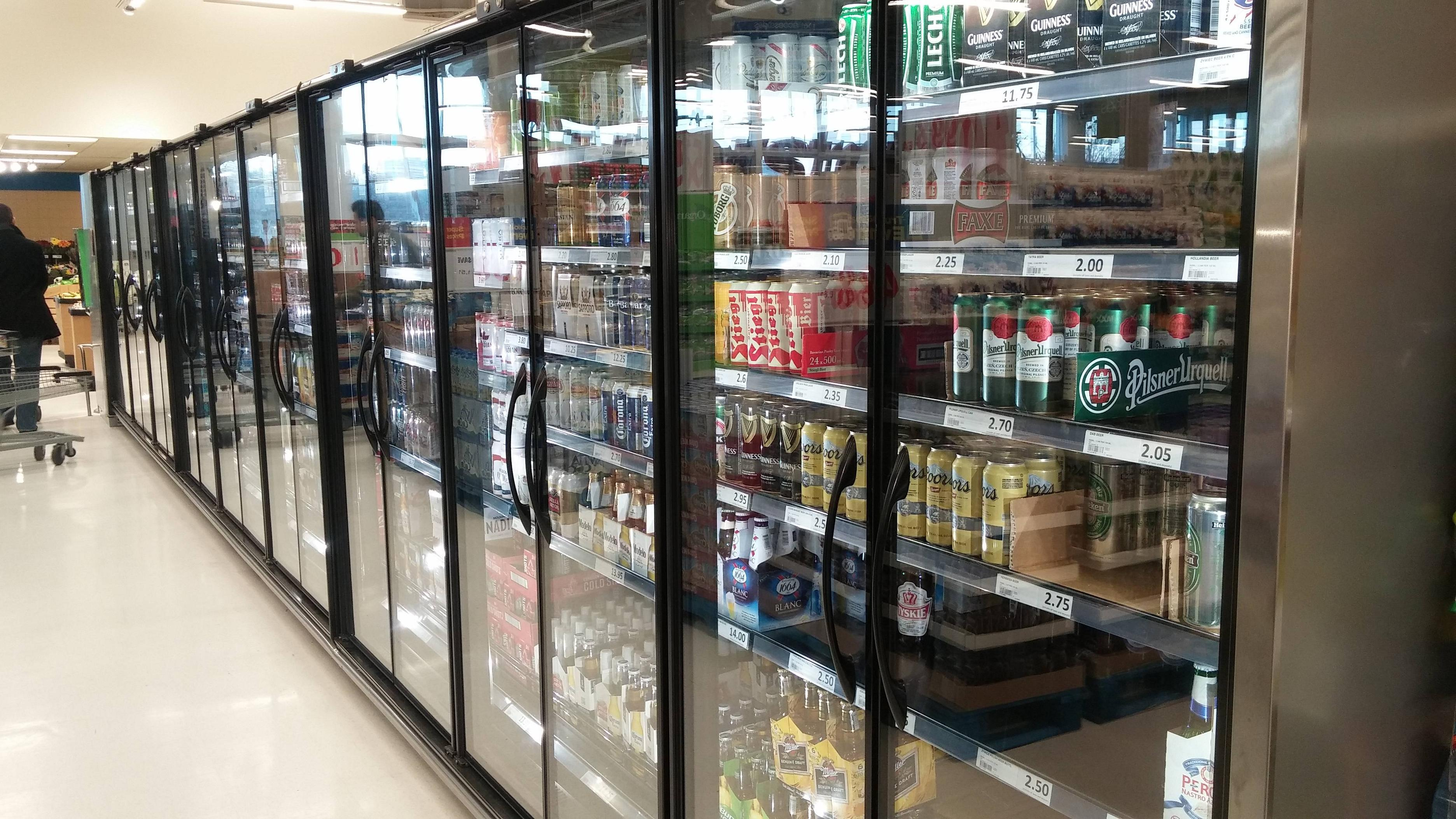 Beer coupons in store