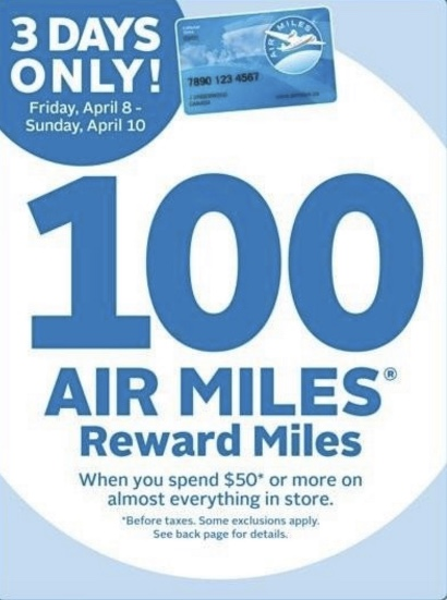 how to spend air miles