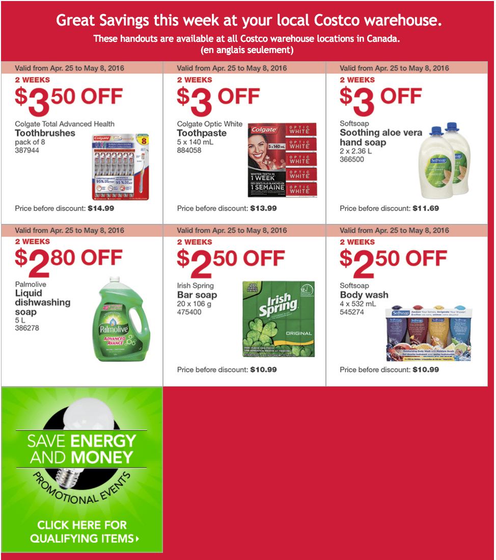 Costco Canada Weekly Instant Handouts Coupons/Flyers For