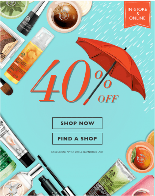 Make sure to check out all Body Shop coupon codes, deals and special promotions available to Canadian customers. Never miss a coupon from The Body Shop Canada! We'll send you the .