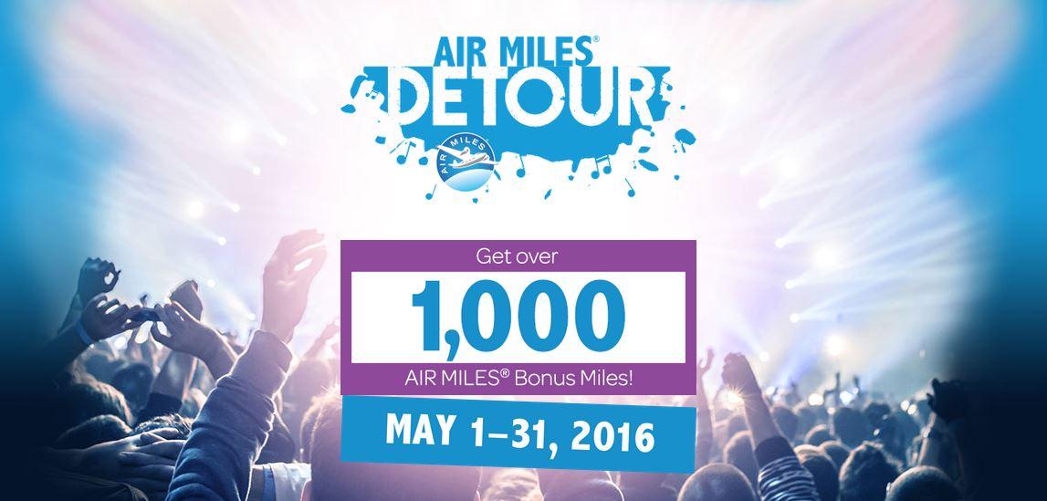 air miles detour