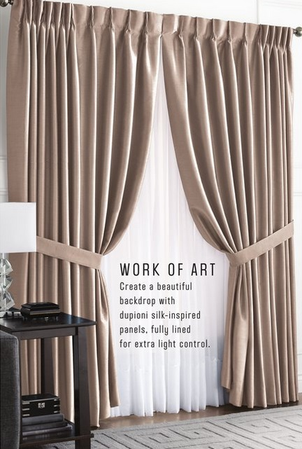 Curtains Ideas curtain panels on sale : Sears Outlet Canada Window Coverings and Decor Sale: Save Up to 75 ...