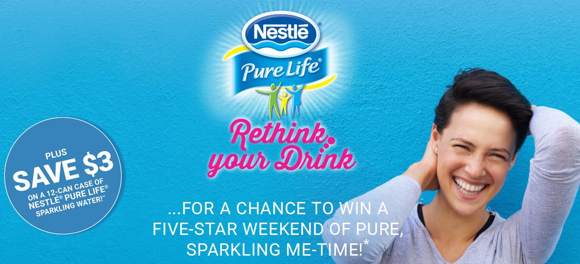 Canadian Coupons: Save $3 On 12 Pack of Nestle Pure Life Sparkling