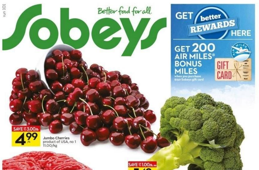 Sobeys air miles coupons 2018
