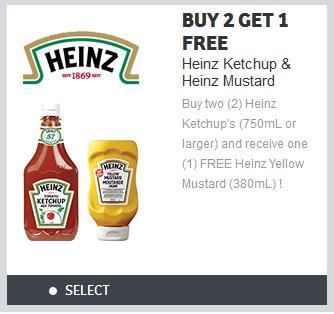 Free printable heinz ketchup coupons