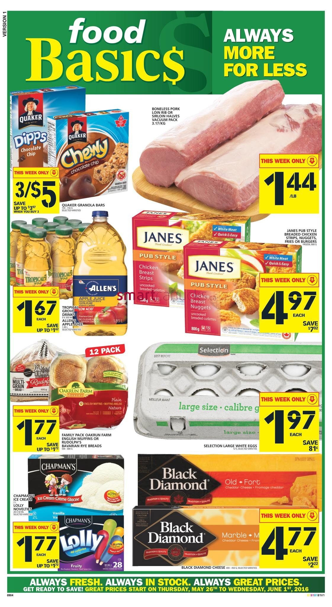 This Week S Food Basics Flyer