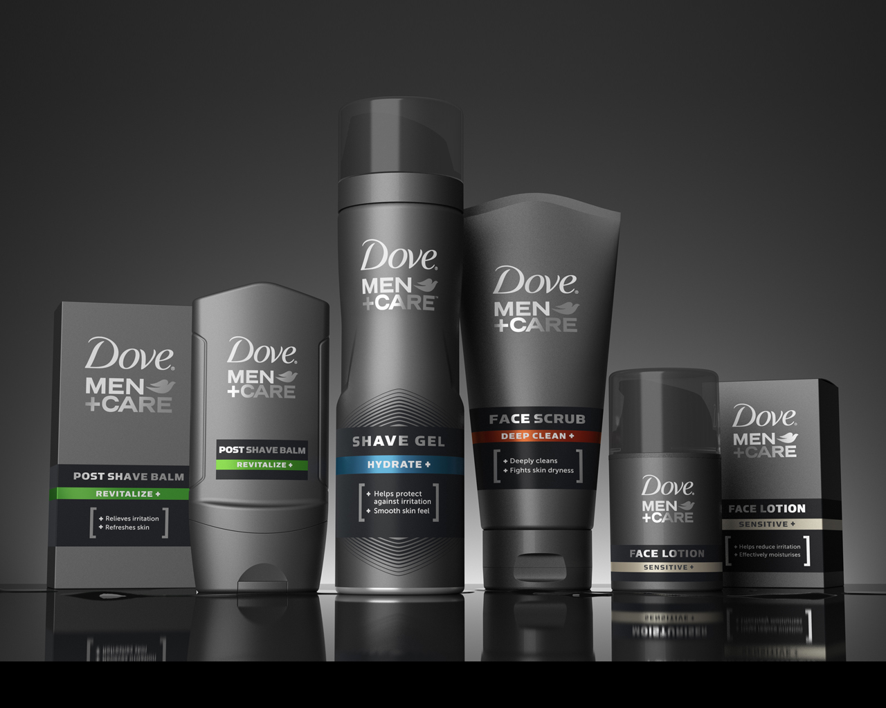dove male products