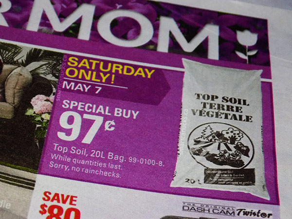 canadian tire soil one day deal