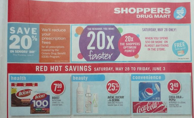 shoppers flyer sneak