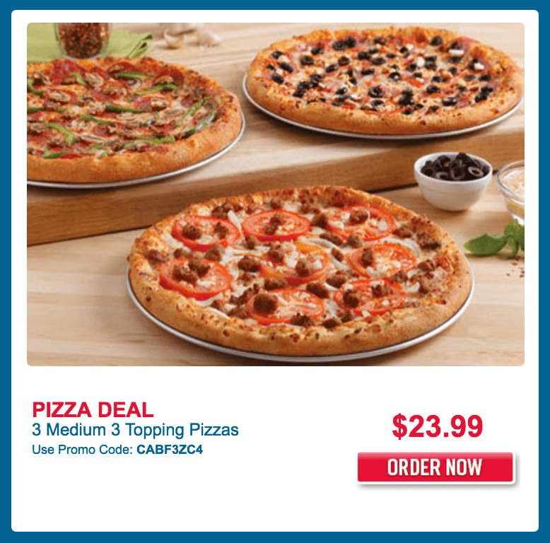 Dominos pizza coupons gp