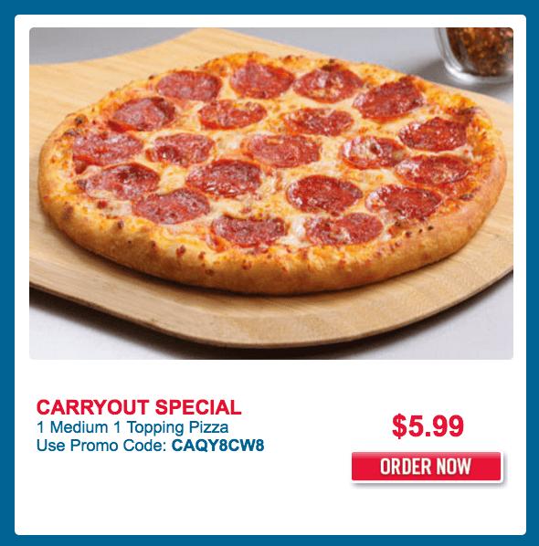 Domino pizza canada coupon code