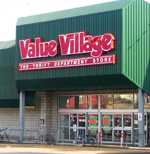 Value Village Store Canada 2016
