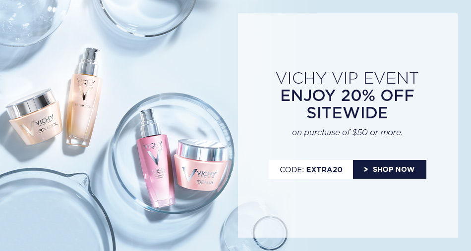 vichy canada coupon code save 20 off sitewide get free samples canadian freebies coupons. Black Bedroom Furniture Sets. Home Design Ideas