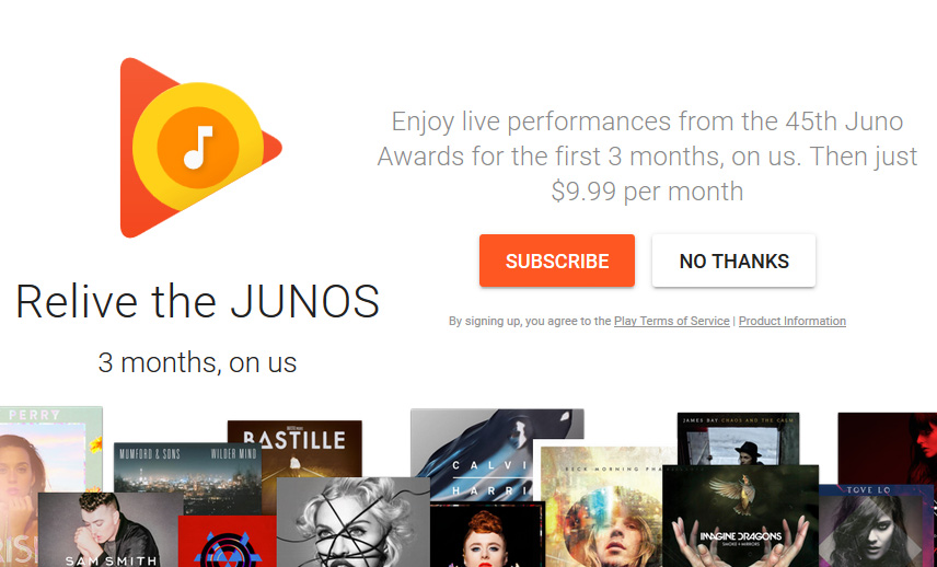 how to search for free music on google play