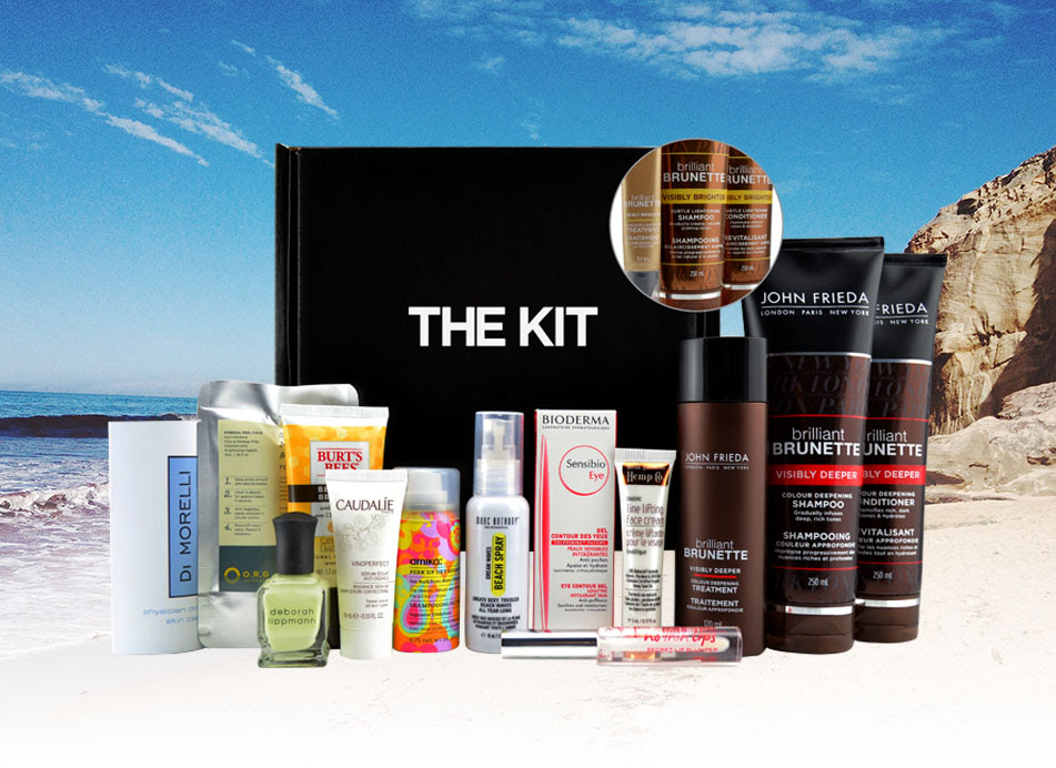 the kit summer beauty box