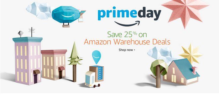 Amazon Prime Warehouse Deals