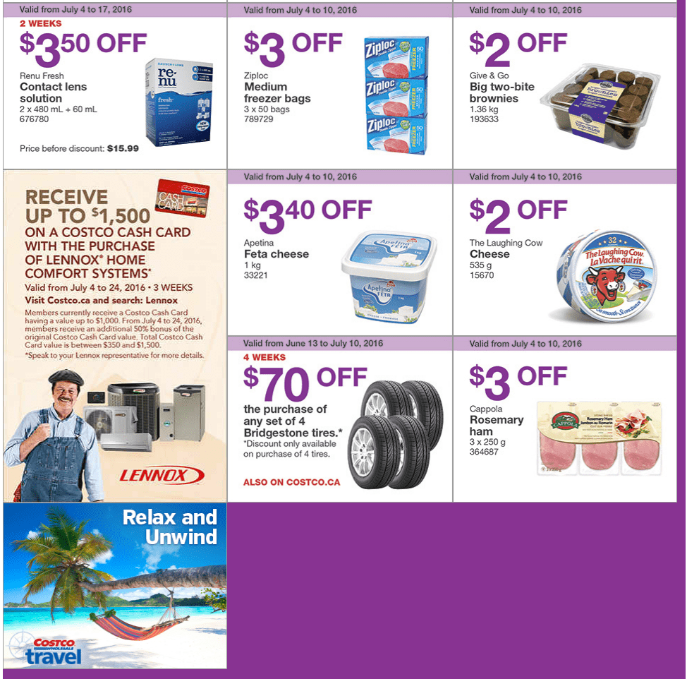 release date: 59991 8638c Costco Canada Weekly Instant Handouts Coupons/Flyers For ...