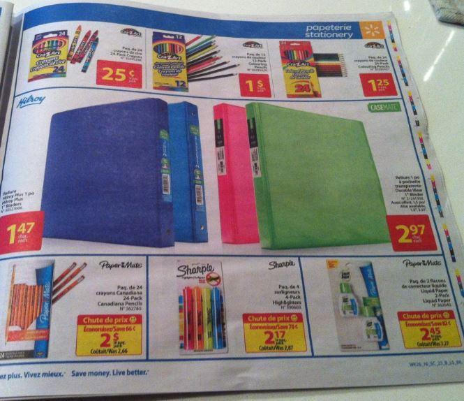 Walmart Back2School