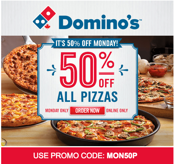 We have 50 bushlibrary.ml Coupon Codes as of December Grab a free coupons and save money. The Latest Deal is 50% Off Any Pizza @ Domino's Canada Promo Codes & Deals.