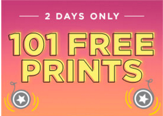 Shutterfly Canada 2 Days Offers Get 101 Free Prints With Promo Code