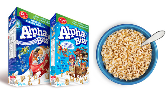 picture about Post Cereal Printable Coupons identified as Smartsource Canada Discount coupons: Help you save $3 upon Article Alpha-Bits