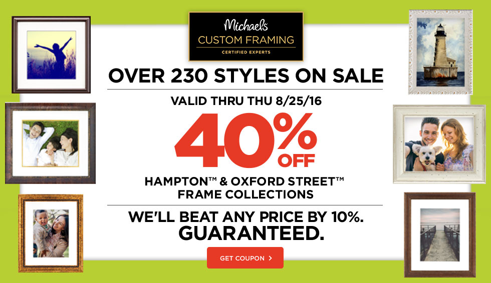 michaels coupons promo codes 20 cash back ebates picture framing supplies at wholesale prices - Michaels Framing Prices
