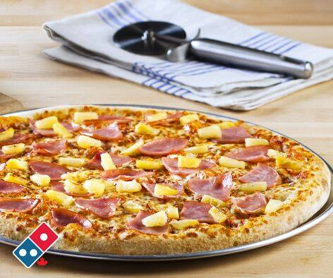 Domino's Pizza Canada Online Deal: Today Only Save 50% All Pizzas!