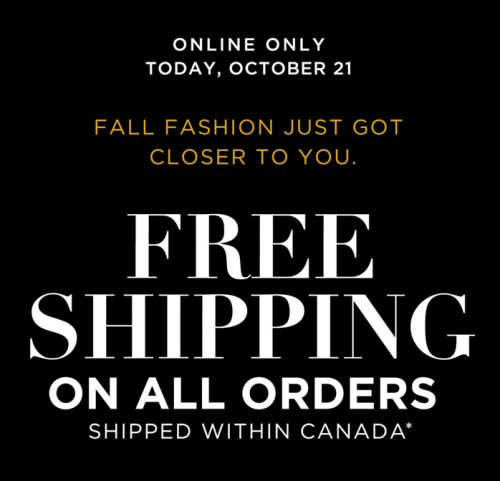 Addition Elle Canada Offers: FREE Shipping On All Orders, No Minimum + An Extra 40% Off Sale Items, Today!