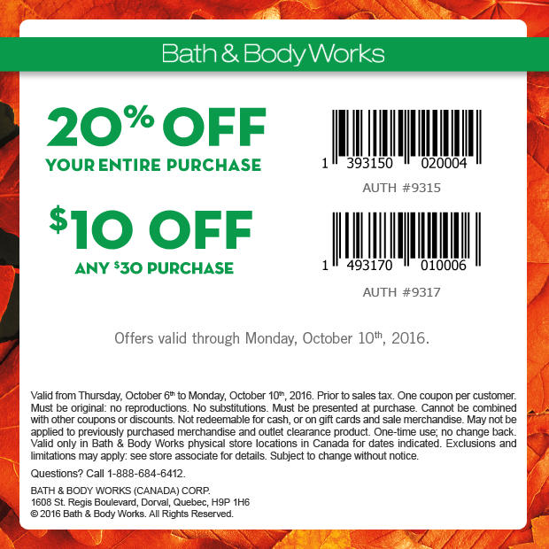 Bath and Body Works is a leader in providing personal care items, as its name suggests. It is everyone's one stop face and body, selling bath items, skin care items, and even home fragrances/5.