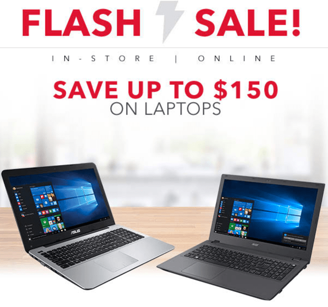 Best Buy Canada Flash Sale Save On Laptops Desktops