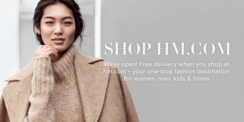 H&M Canada Online Shopping at Smartcanucks.ca deals