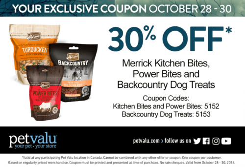 Pet Valu Canada Coupons at Smartcanucks.ca Deals