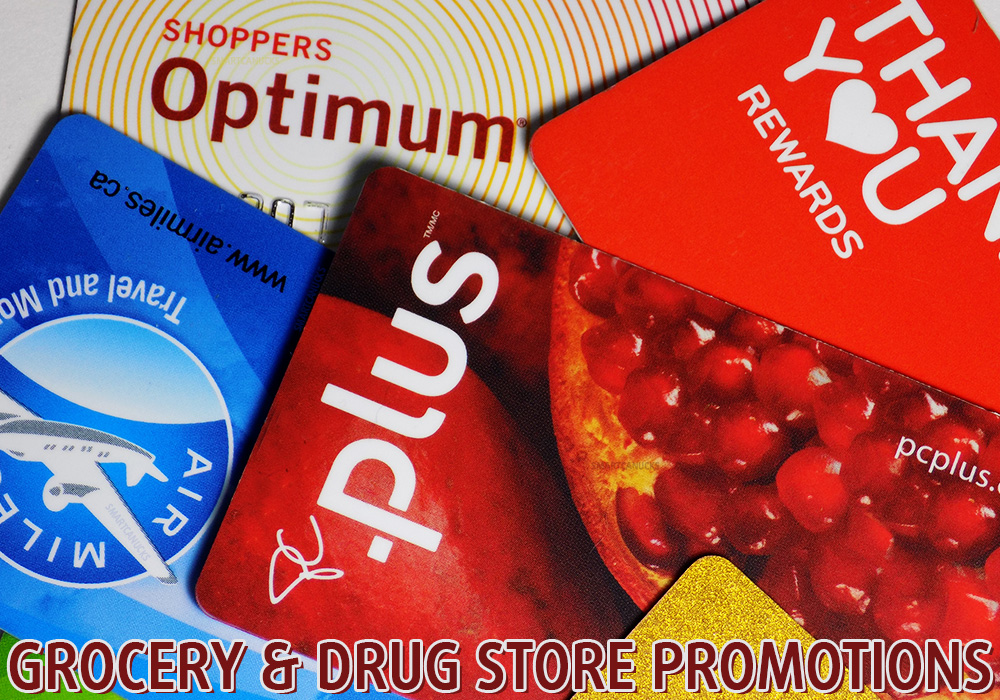 SC Official Grocery and Drug Store Promotions Canada Optimum AirMiles PCPlus More