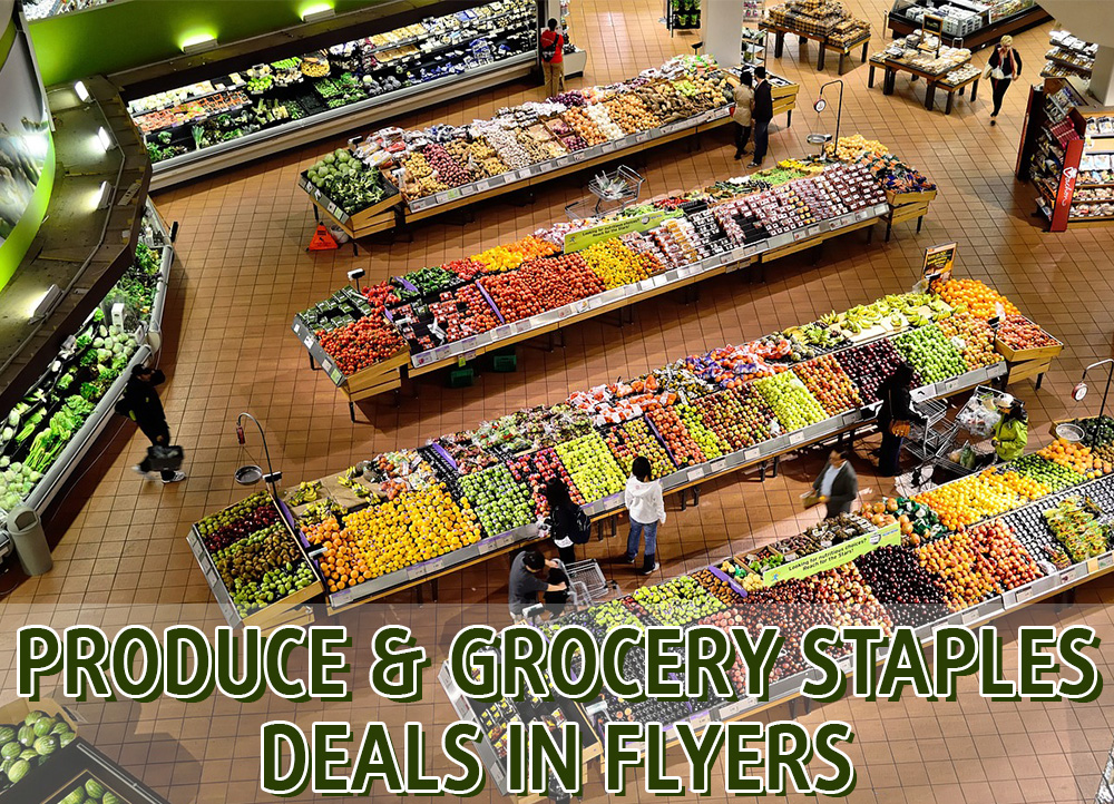 SC Official Produce and Grocery Staples Deals In Flyers Canada