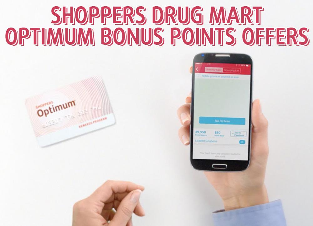 SC Official Shoppers Drug Mart Optimum Offers