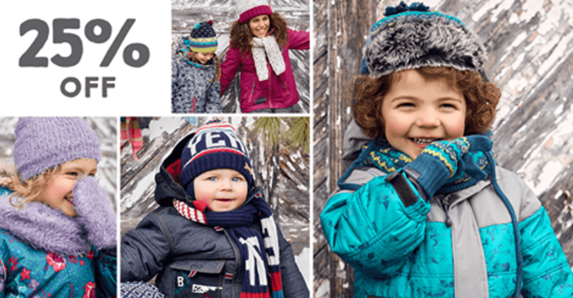 Souris Mini Canada Sale: Save 25% Off Snowsuits & Winter Accessories