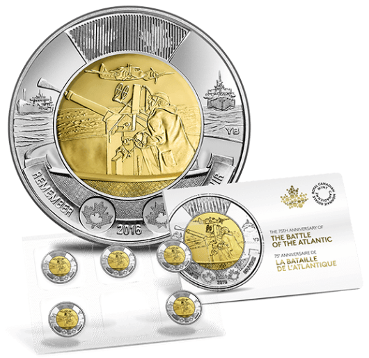 Royal Canadian Mint Offers: Get 75th Anniversary Of The Battle Of The Atlantic Coin Pack For $10 + FREE Shipping with Promo Code