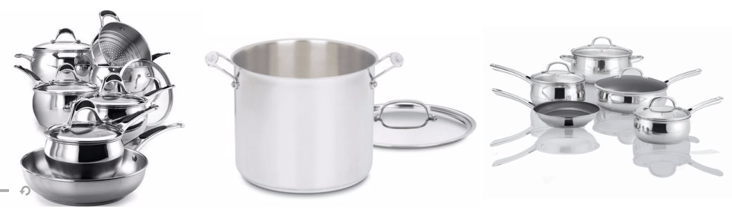Sears Canada Deals: Save 70% on Select Cookware by Cuisinart, Lagostina, Kenmore, Paderno and More